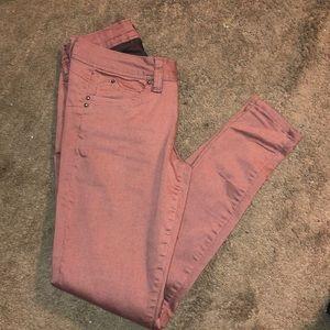 Desert pinky brown Jeans Sz 3
